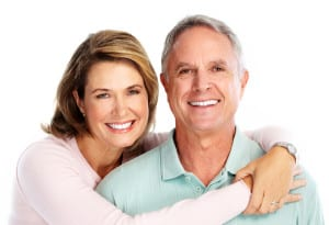 General Cosmetic Dentistry Smiling Senior Couple